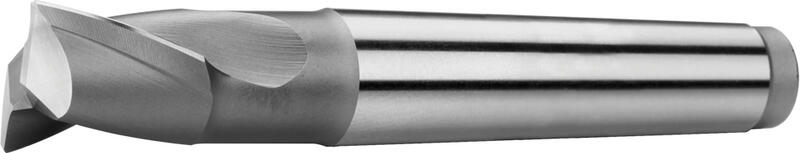 Tapper shank  slot drills short, centre cutting, 2-fluted,  25°, type N
