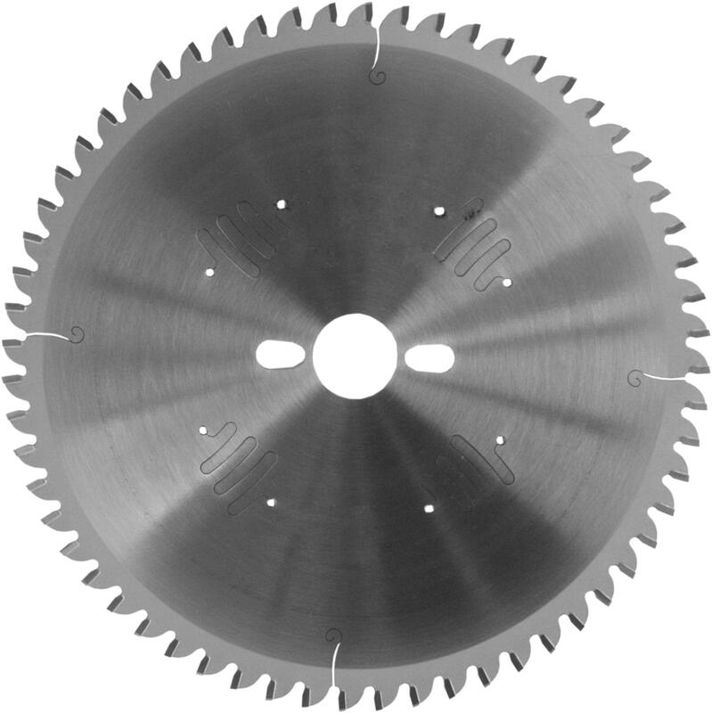 TCT saw blades for cutting non-ferrous metals and plastics