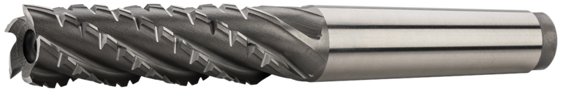 Tapper shank end mills long, semicoarse teeth, 35°, type CB