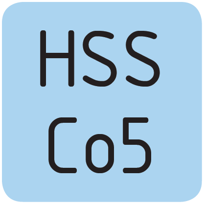 Material HSS Co5.